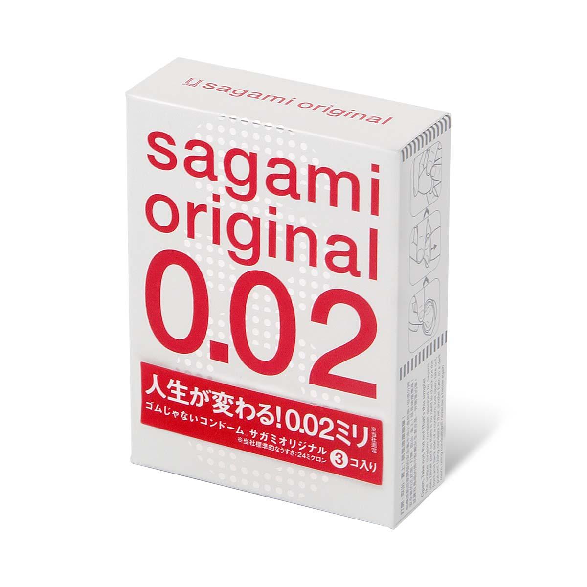 Фото Ультратонкие презервативы Sagami Original - 3 шт.