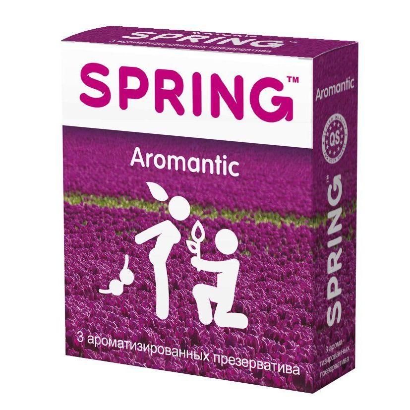Фото Ароматизированные презервативы SPRING AROMANTIC - 3 шт.