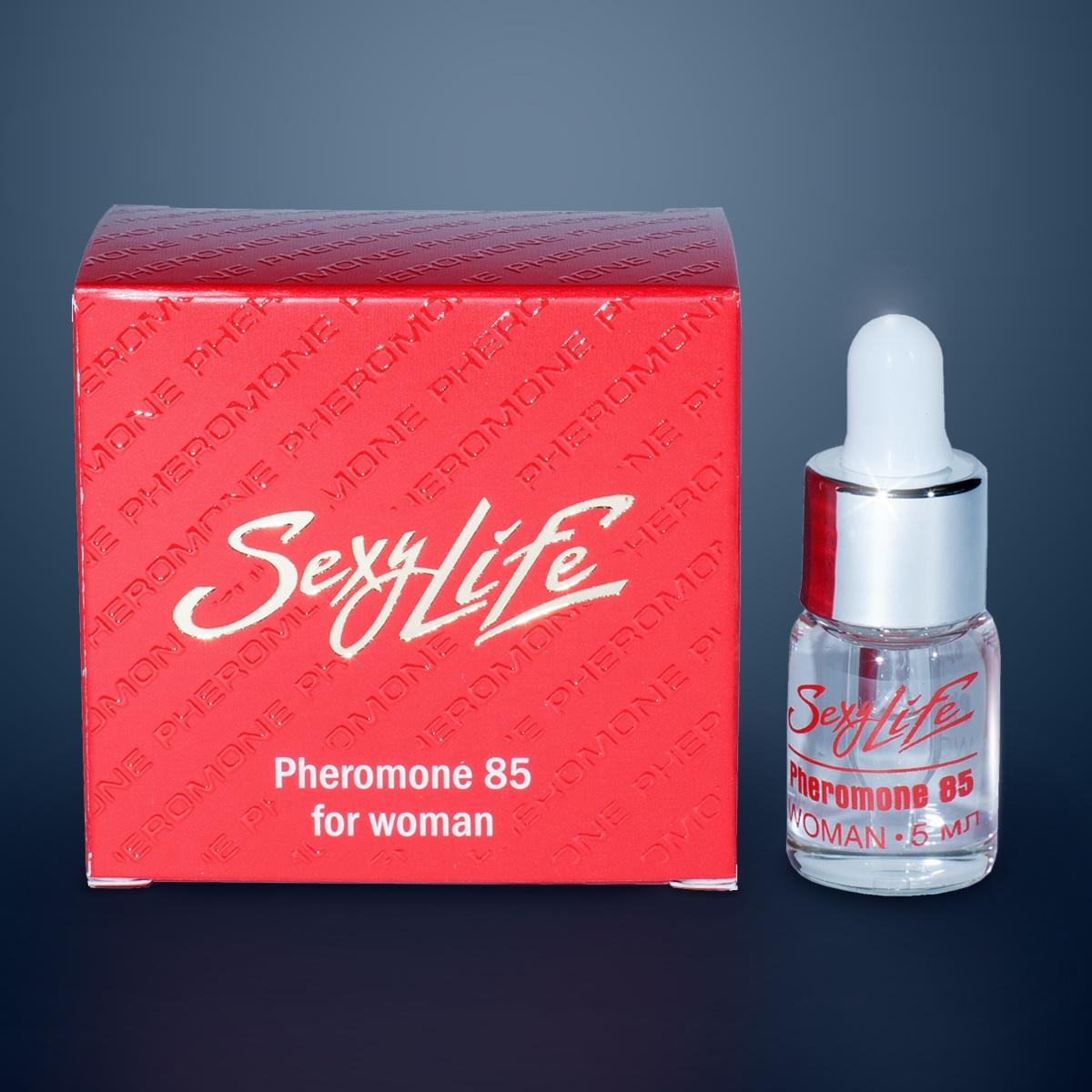 Фото Концентрат феромонов Sexy Life для женщин (концентрация 85%) - 5 мл.