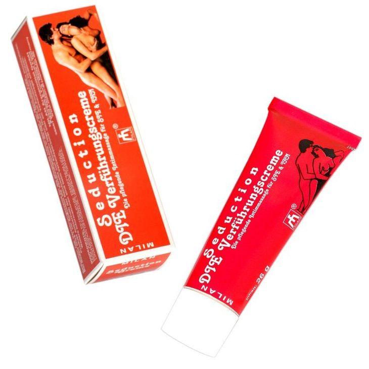 Фото Возбуждающий интимный крем для мужчин и женщин Seduction - 28 мл.