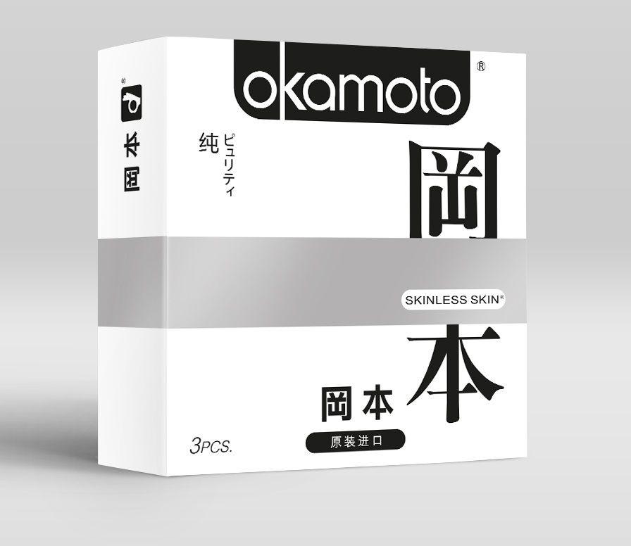 Фото Презервативы OKAMOTO Skinless Skin Purity - 3 шт.