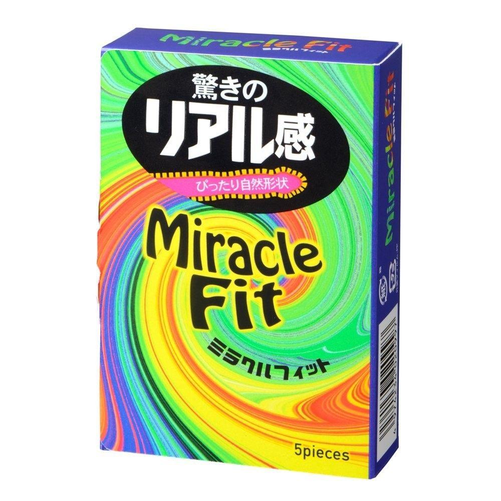 Фото Презервативы Sagami Xtreme Miracle Fit - 5 шт.