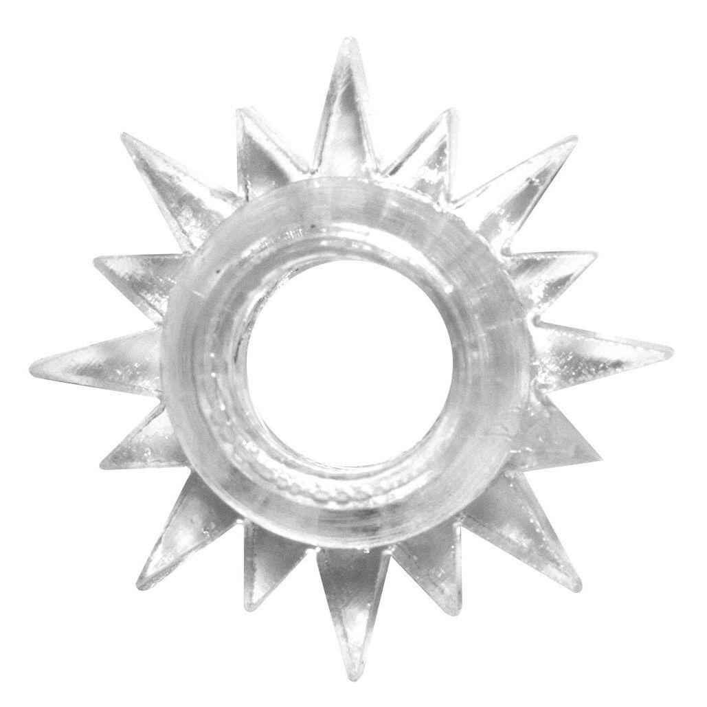 Фото Прозрачное эрекционное кольцо Rings Cristal