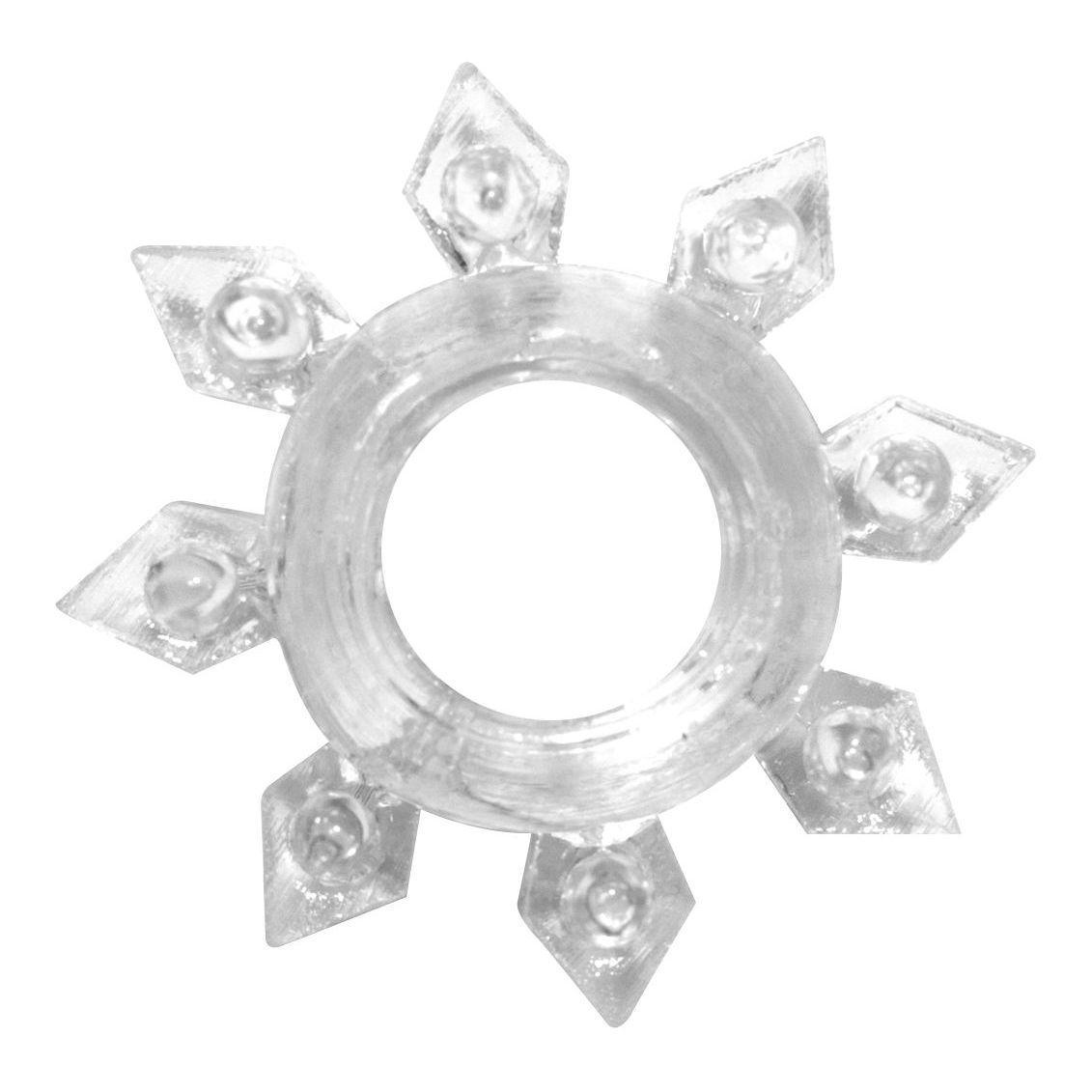 Фото Прозрачное эрекционное кольцо Rings Gear