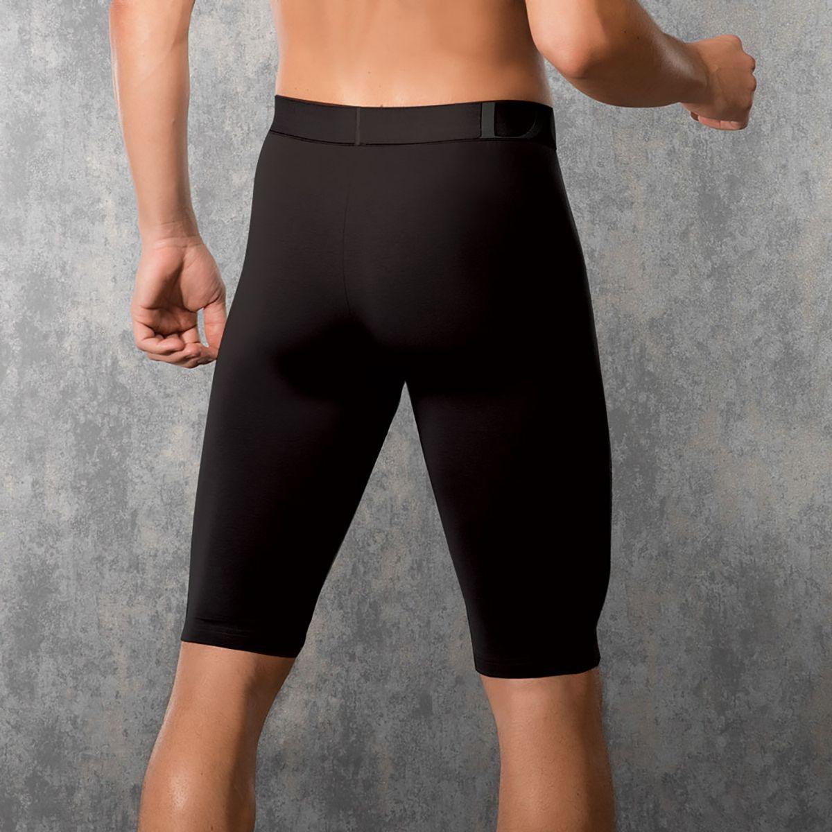 Дополнительное фото 1 товара Мужские трусы-боксеры длиной до колена