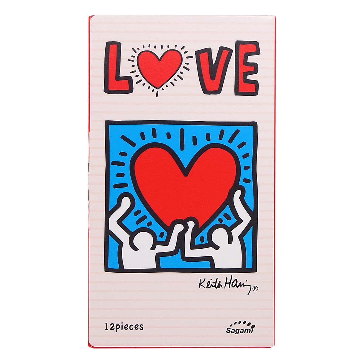 Фото Презервативы Sagami LOVE Keith Haring - 12 шт.