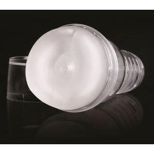 Прозрачный мастурбатор-анус Fleshjack - Ice Bottom Crystal
