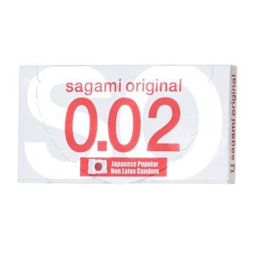 Ультратонкие презервативы Sagami Original - 2 шт.