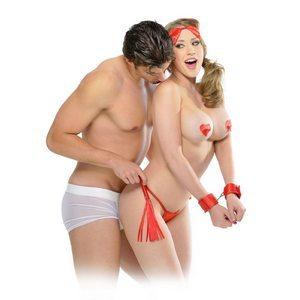 Набор для бондажа Sweetheart Bondage Kit Red