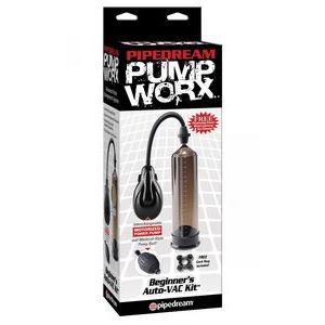 Вакуумный вибростимулятор Pump Worx Beginners Auto VAC Kit