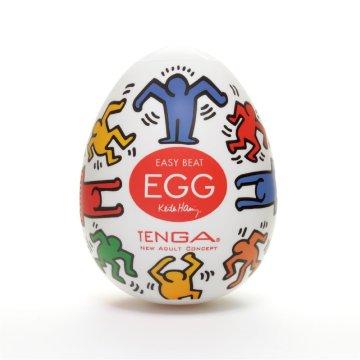 Мастурбатор-яйцо Tenga Keith Haring EGG DANCE