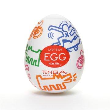 Мастурбатор-яйцо Tenga Keith Haring EGG STREET