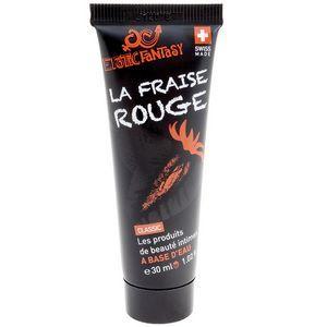 Лубрикант со вкусом клубники Erotic Fantasy La Fraise Rouge - 30 мл.