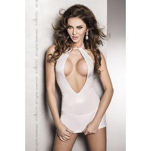 Страстное платье с глубоким декольте и открытой спиной Femi