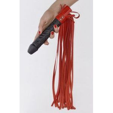 Плеть  Ракета  с красными хвостами - 65 см.