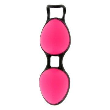 Розовые вагинальные шарики Joyballs Secret