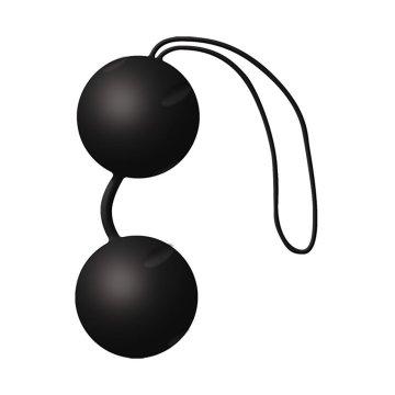 Чёрные вагинальные шарики Joyballs Black