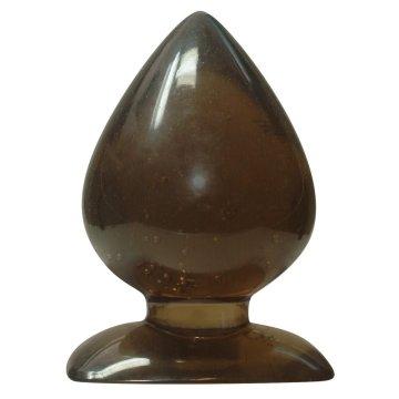 Большая анальная пробка каплевидной формы - 13 см.
