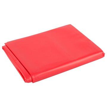 Красная виниловая простынь