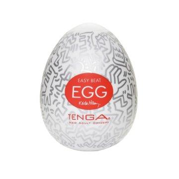 Мастурбатор-яйцо Tenga Keith Haring EGG PARTY
