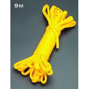 Желтая веревка для связывания - 9 м.