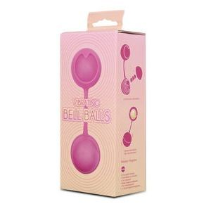 Розовые вагинальные шарики с вибрацией
