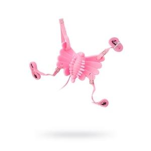 Розовый клиторальный стимулятор Sex Butterfly