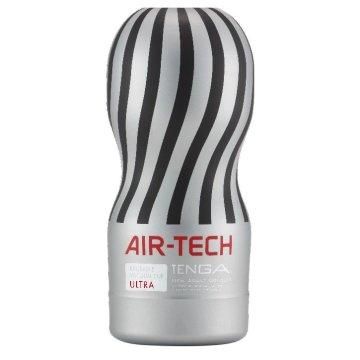 Серый вакуумный мастурбатор TENGA CUP AIR-TECH ULTRA Reusable Vacuum