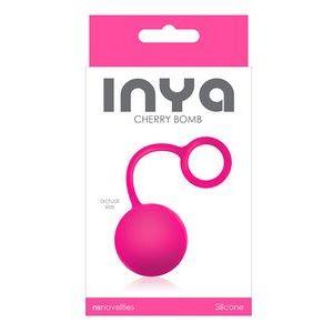 Розовый вагинальный шарик INYA Cherry Bomb Pink