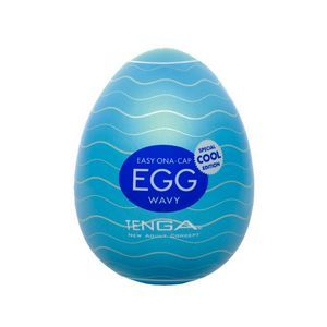Мастурбатор-яйцо Tenga с охлаждающей смазкой COOL EGG