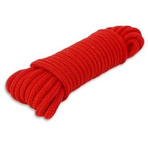 Красная веревка для связывания - 10 м.