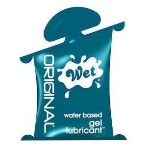 Гель-лубрикант на водной основе Wet Original - 10 мл.