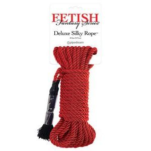 Красная веревка для фиксации Deluxe Silky Rope - 9,75 м.