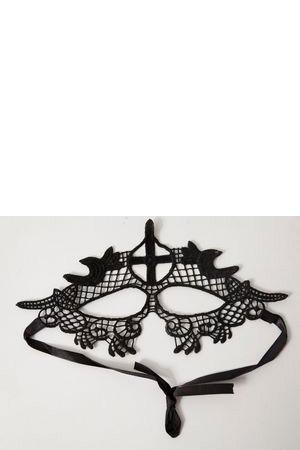 Ажурная маска  Кокетливая монашка