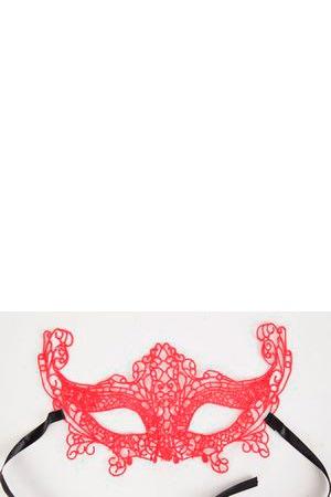 Кружевная маска на глаза в венецианском стиле