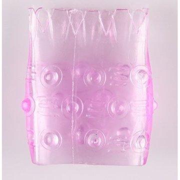 Розовая сквозная насадка  Ананасик
