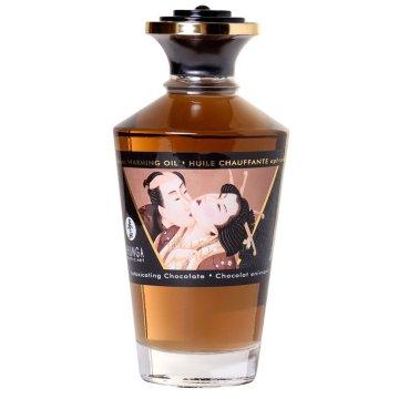 Массажное интимное масло с ароматом шоколада - 100 мл.