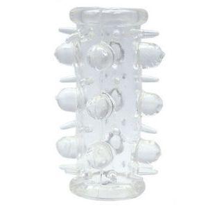 Сквозная насадка с шипами и шишечками - 7,6 см.