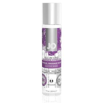 Массажный гель ALL-IN-ONE Massage Oil Lavender с ароматом лаванды - 30 мл.