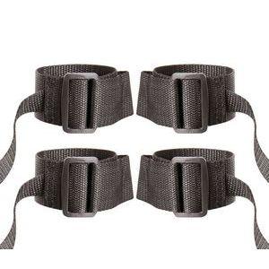 Регулируемые манжеты на запястья и лодыжки с лентами для фиксации