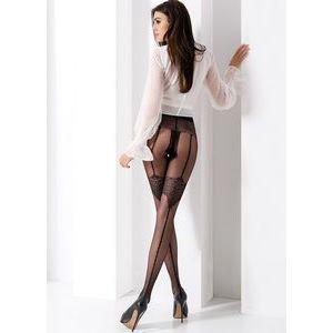 Фантазийные колготки с имитацией нижнего белья