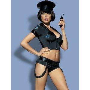 Строгий костюм полицейского Police