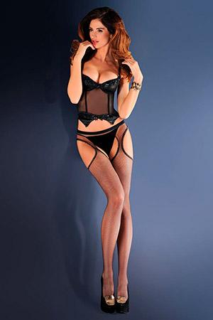 Колготы с вырезами на бёдрах Strip Panty 151