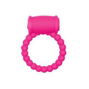 Розовое эрекционное кольцо Rings Drums